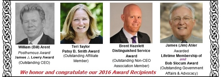 2016 Award Recipients